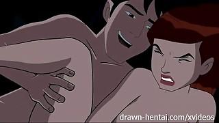 car, cartoon, hentai, parody