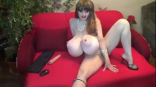 big tits, femdom, massive, mature, webcam