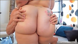 babe, blowjob, chubby, curvy, friend, fuck, husband, pigtails, redhead