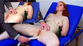 bdsm, blowjob, enema, hardcore, massive, redhead
