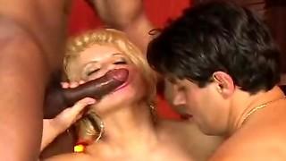 bisexual, blowjob, fake, hardcore, milf, sex, sexy, threesome
