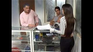argentina, brunette, car, hardcore, humiliation, latina