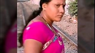 aunty, big ass, cock, femdom, fuck, groped, indian, saree, sex, tied, train