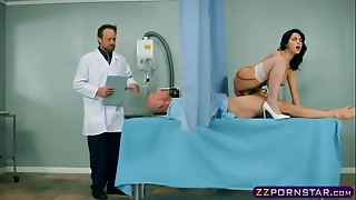 big dick, blowjob, cock, medical, nurse, perfect, spit, stockings, wife