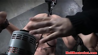 anal, bdsm, bondage, femdom, fetish, insertion, lingerie, machine, piercing, rough sex, sex, slave, tattoo, vibrator