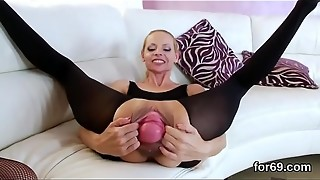 anal, dildo, fuck, gaping, group sex, lesbian, licking, prolapse, sex, toys