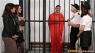 blowjob, british, cfnm, cum, cumshot, european, facial, femdom, group sex, handjob, humiliation, masturbation, police, prison, sex, stroking, tied, voyeur