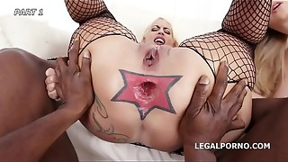 anal, ass to mouth, asshole, bbc, big dick, black, cock, double penetration, fuck, gaping, group sex, licking, mouth, nasty, rimming, wet