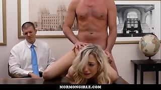 babe, blonde, boyfriend, cuckold, friend, fuck, masturbation, office, orgasm, punishment, rough sex, voyeur