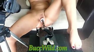 anal, babe, blonde, creampie, dildo, machine, massive, nipples, orgasm, pussy, sex, toys