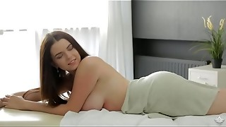 big tits, blowjob, fuck, hardcore, massage, russian, sex, table