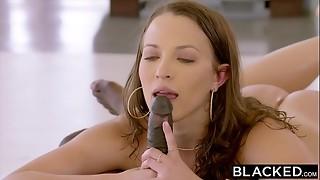 babe, bbc, big dick, black, blacked, blowjob, brunette, cock, cowgirl, cum, cumshot, deepthroat, doggystyle, facial, interracial, reverse, riding