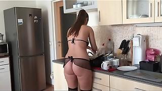 amateur, anal, big ass, blowjob, brunette, cock, cum, cumshot, fetish, fuck, lady, maid, pussy, sex