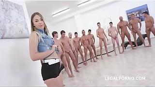 anal, blowjob, cock, cum, cumshot, facial, fuck, gangbang, messy, monster, sex, slut, tiny