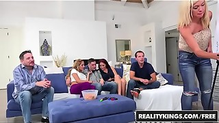 game, lingerie, reality, realitykings, sex