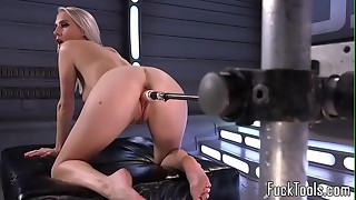amateur, anal, big tits, blonde, closeup, dildo, fingering, machine, masturbation, pussy, rubbing, sex, solo, toys