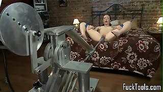 amateur, big tits, bondage, closeup, dildo, femdom, insertion, machine, masturbation, pussy, sex, solo, squirting, tied, toys, train, wet
