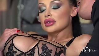 anal, big ass, big tits, black, double penetration, hardcore, leather, pornstar, sex, webcam