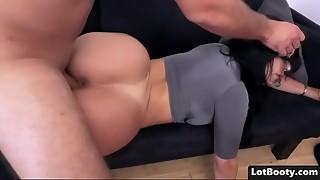 big ass, big tits, blowjob, booty, brunette, bubble, fuck, latina, wet