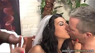 bbc, big dick, black, bride, cock, cuckold, dogfartnetwork, fart, hardcore, humiliation, husband, interracial, massive, monster, sex, work
