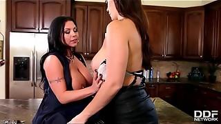 big dick, big tits, curvy, double penetration, european, glamour, hardcore, lesbian, lovers, milf, orgasm, slut