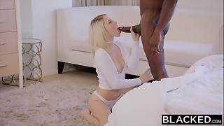 babe, bbc, big dick, black, blacked, blonde, cock, cowgirl, cum, cumshot, doggystyle, facial, interracial, reverse, riding, small tits, tiny