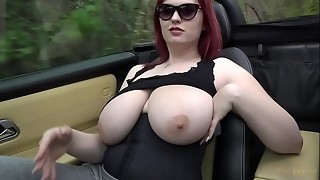 big ass, big tits, foot fetish, massive, outdoor, topless