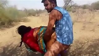 aunty, cheating, fuck, indian, outdoor, saree, sex