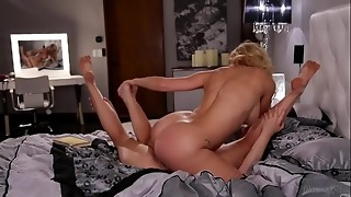 bubble, cunnilingus, stepdaughter, hardcore, lesbian, licking, mature, milf, mom, orgasm, pussy, scissoring, sex, stepmom