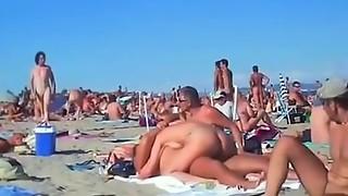 amateur, beach, public, voyeur