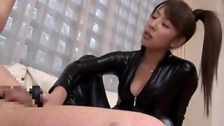 asian, bdsm, femdom, japanese, lady, leather, strapon