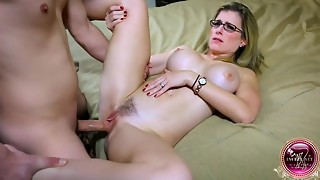 babe, big tits, black, blackmail, blonde, couple, cowgirl, fake, female choice, glasses, hardcore, milf, mom, pornstar, pov, stepson, striptease