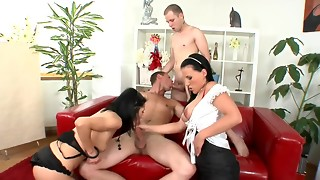 anal, big dick, big tits, bisexual, blowjob, brunette, cock, cum, cumshot, fast, ffm, foursome, fuck, group sex, hardcore, lingerie, milf, mmf, natural, orgy, sex, sexy, sperm, threesome, toys, vibrator