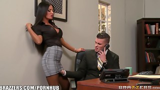 babe, big tits, blowjob, brazzers, brunette, cum, cumshot, facial, female choice, fingering, fuck, hardcore, heels, lingerie, lovers, nylon, office, oral, pornstar, reality, uniform