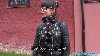 amateur, bdsm, blowjob, brunette, casting, cock, creampie, cum, cumshot, czech, glasses, hardcore, homemade, money, outdoor, pornstar, pov, public, reality, russian