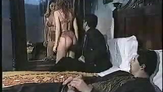 classroom, group sex, italian, sex, threesome, vintage