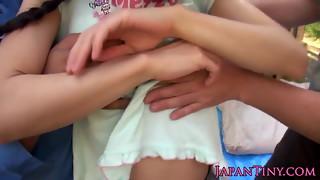 asian, facial, flexible, hd videos, japanese, mmf, teen, threesome
