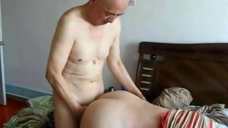 big tits, chinese, doggystyle, fuck, grandpa, granny, group sex, sex