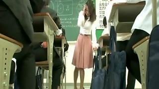 asian, japanese, lingerie, sex, skirt, teacher, toys, vibrator
