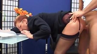 cheating, classroom, fuck, gorgeous, hardcore, mature, secretary, stockings
