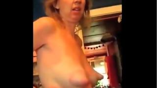 amateur, milf, nipples, saggy tits