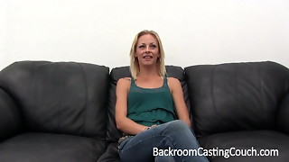 amateur, anal, big dick, casting, cock, couch, creampie, fuck, skinny
