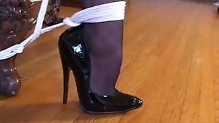 bdsm, black, bondage, ebony, fetish, foot fetish, heels, sex, sexy, stockings, toys