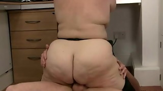 bbw, big tits, boss, car, hardcore, seduction