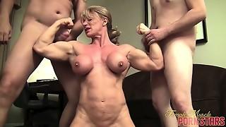 big tits, blonde, fetish, funny, threesome, wild