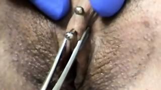 black, blowjob, clit, fetish, oral, piercing