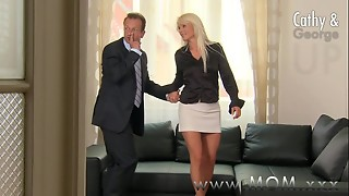 blonde, blowjob, cum, cumshot, foreplay, fuck, granny, hardcore, mature, milf, mom, oral, orgasm, romantic, sex