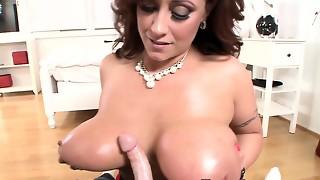 big tits, blowjob, cum, cumshot, hd videos, massive, milf, pov, sperm, titjob