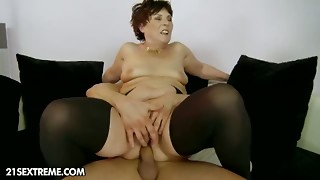 big tits, brunette, creampie, cum, cumshot, european, granny, hardcore, masturbation, mature, nylon, screaming, skirt, stockings, tied, toys, upskirt