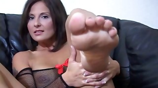 big tits, fetish, foot fetish, masturbation, mature, milf, nylon, stroking, teacher